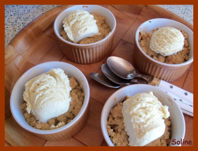 Crumble aux pommes dans 04 - Desserts et douceurs 1005300soline