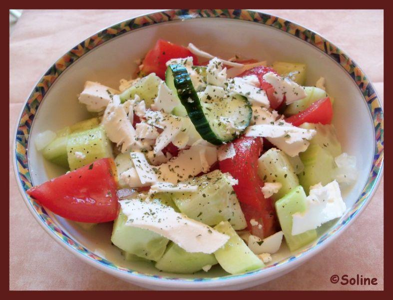 Soline cuisine salade chopska for Cuisine entrees froides
