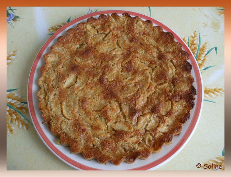 Tarte pommes amandes dans 04 - Desserts et douceurs 104tartespommesamandes