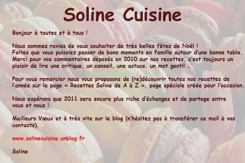 Newsletter dans 00 - Newsletter soline2011