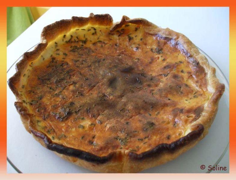 Quiche saumon ail et fines herbes dans 03.1 Tartes, quiches, pizzas 116quichesaumon