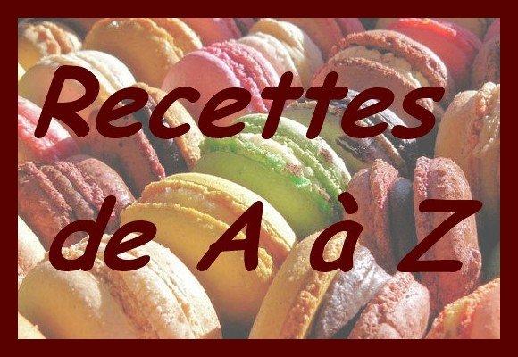 Cuisine de a a z recettes for Cuisine de a a z