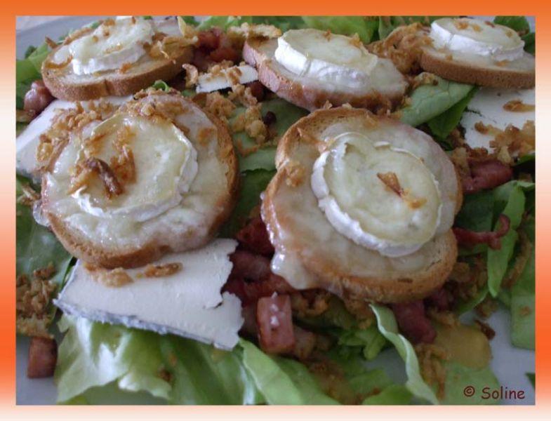 Salade de chèvre chaud dans 02.1 Entrees froides 125saladechevre