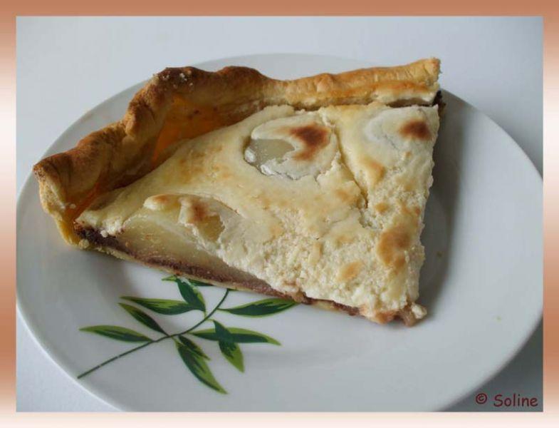 Tarte poires choco  dans 04 - Desserts et douceurs 128tartepoirechoco