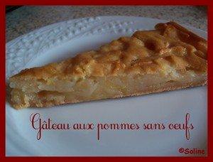 Gâteau aux pommes sans oeufs dans 04 - Desserts et douceurs 100_6384-soline-300x228